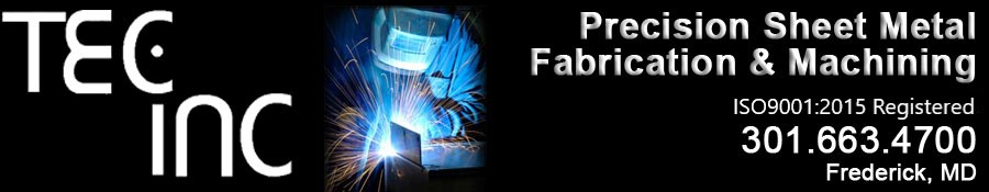 TEC Inc Precision Sheetmetal Fabrication in Frederick MD